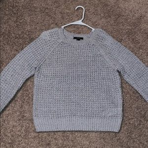 Forever 21 waffle sweater